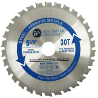 """5-3/8"""" 30 Tooth TCT Saw Blade for Steel/Metal"""