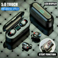 Bluetooth 5.0 Headset TWS Wireless Earphones Mini Earbuds Stereo Headphones USA