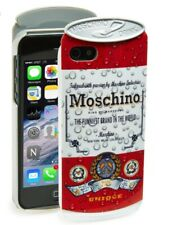 """$85 NWT """"MOSCHINO"""" iPhone BEER CAN CASE 5 & 5s - 100% AUTHENTIC"""
