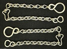 CHARRO SADDLE HORSE BIT REIN CHAINS ACERO INOXIDABLE FRENO CADENA PARA RIENDAS