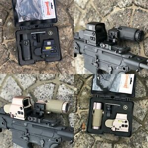Eotech Style EXPS 558 Holographic Red Dot Sight + G33 3x Magnifier Airsoft