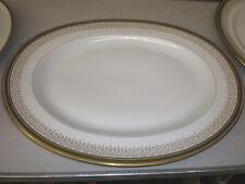 """Vintage Bernardaud LIMOGES Greek Key 16"""" Serving Platter"""