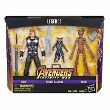 Marvel Legends Infinity War Thor, Rocket & Groot exclusive 3 pack - New in stock