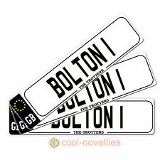 "MINI NOVELTY NUMBER  PLATE / BOOKMARK  "" BOLTON 1 "" GIFT FOR FOOTBALL FANS"