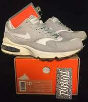 timeless design 83c7a d327b VTG NIKE AIR BURST EMINEM SLIM SHADY CHARITY RARE LIMITED MAX GREY BW SIZE  10