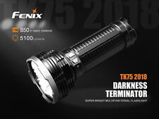 Fenix TK75 2018 Edition LED Taschenlampe Flashlight 5100 Lumen Strobe + SOS