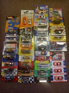 1991/1999 lot of 37 NASCAR Racing Champions & Many more Brands 1:64 Scale