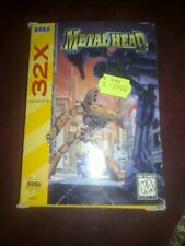 METAL HEAD x SEGA 32X USA MEGADRIVE MD NTSC 32 X  US VERSION