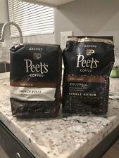 New listing Peet's Coffee Ground Dark Roast Coffee, French Roast, 20 Ounce Peetnik Pack B