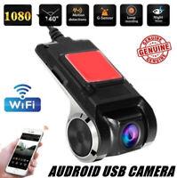 1080P HD WIFI Car DVR Camera Dash Cam Video Recorder Night Vision ADAS Android