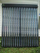 Solar Collector with 30 Heat Pipe Vacuum Tubes