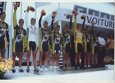 CYCLISME EQUIPE FESTINA **TOUR DE FRANCE 2001** PHOTO 30 X 20 CM QUALITE PRO