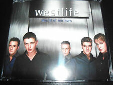 Westlife World Of Our Own Australian (Standard) CD Single - Like new