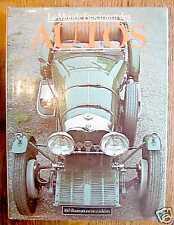 LE MONDE FASCINANT DES AUTOS  voitures anciennes - 1978