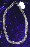 16 - 28 inch sizes Chainmail Necklace Chain 16ga Stainless  Metal Biker