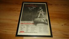 TOYAH the changeling-framed original poster sized advert