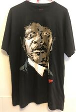 Pulp Fiction Jules Tarantino T Shirt Short Sleeves Black Mens Sz L