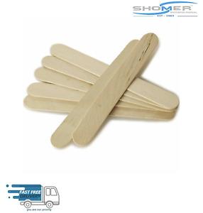 High Quality Wooden Tongue Depressor, Waxing Spatula, Tattoo, Wax Stick 150 x 18