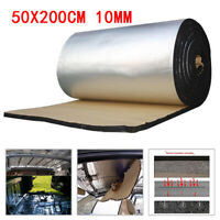 Sound Deadener Car Trunk Heat Shield Insulation Deadening Material Mat 50*200cm