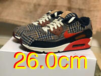 PENDLETON NIKE Air Max 90 BY YOU Sneakers Shose US8 Men's Plaid Multicolor New