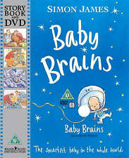 New, Baby Brains with DVD: The Smartest Baby in the Whole World, James, Simon, B