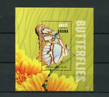 Ghana 2015 MNH Butterflies 1v S/S I Insects Malachite Butterfly