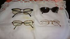 Great Lot of 4 eye glasses for Women~Some Name Brands! Check Description!