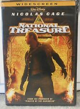 National Treasure (DVD, 2005, Widescreen)  OOP BRAND NEW NICOLAS CAGE