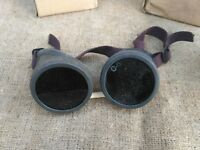 Protection Goggles Glass Steampunk Accessory Vintage Russian Soviet USSR