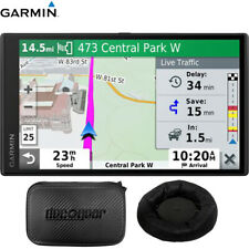 Garmin DriveSmart 65 GPS Premium Navigator with Amazon Alexa + Dash-Mount Bundle