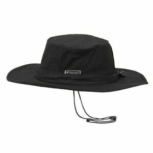 """Frogg Toggs ® Breathable Waterproof """"Black"""" Camping Hunting Fishing Boonie Hat"""