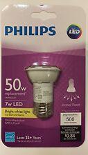Philips 7 watt LED = 50 watt Bright White PAR16 Dimmable  Flood Light Bulb 3000K