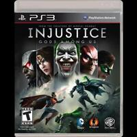 PS3 Injustice Gods Among Us Game Playstation3