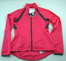 Pearl Izumi Women's Elite Barrier Cycling Jacket XL Hot Pink/Smoke