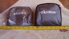 OKUMA REEL CASE / POUCH - PADDED - FITS CENTREPIN , MATCH REEL  X 3