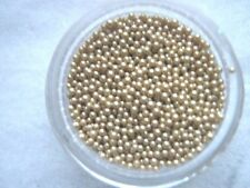 3G POT METALLIC GOLD  CAVIAR  BEADS NAIL ART/GEL/ACRYLIC
