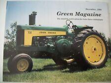 John Deere 1960 730 tractor Green Magazine December 1990