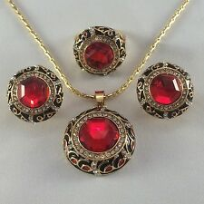 Unbranded Ruby Costume Jewellery Sets