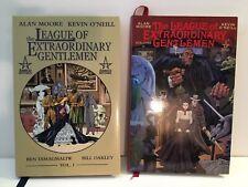 League of Extraordinary Gentlemen Hc/Hardcover Set Vol. 1 & 2 Alan Moore O'Neill