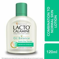 Lacto Calamine Daily Face Care Lotion, 120 ml - 3 way action for oil balance