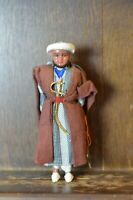 Fabulous VINTAGE Doll of a Arabian Man 18cm Tall by GENIUS