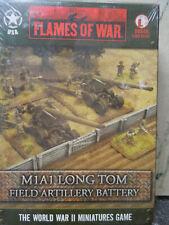 battlefront flames of war: American M1A1 Long Tom Arty Battery ubx40 nib