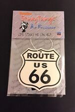 ROUTE 66 AIR FRESHENER * CHERRY  car truck rat rod vintage 60's 70's sign chevy