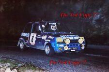 Jean Ragnotti Renault 5 Alpine Tour de Corse Rally 1979 Photograph 1