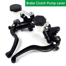 Pair Master Cylinder Brake Control Clutch Lever For Yamaha Kawasaki Suzuki CNC