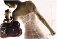 Publicité Advertising 2006 (2 pages) sac à main maroquinerie Christian Dior