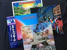 WEATHER REPORT JAPAN 4 (5) x LP Bundle..
