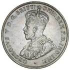 1933 Australia Silver Florin NGC AU Details Toned Coin Key Date