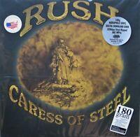 "Rush ""Caress Of Steel"" REMASTERED 180 Gram Vinyl LP GATE FOLD & Download SEALED"