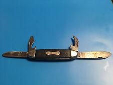 Jowika Camper's Knife Folding Pocket Knife Republic Of Ireland W/ 2 Openers